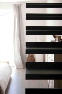 Progettazione scala in ferro in abitazione privata